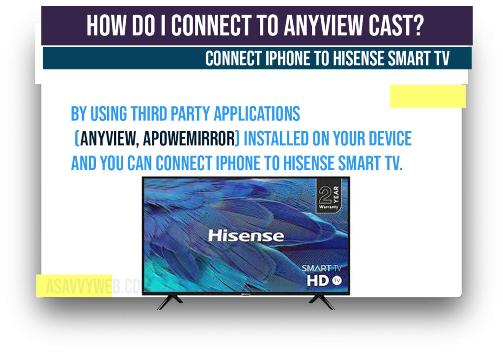 connect to anyview cast
