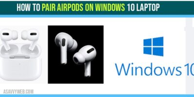 how to pair airpods on windows 10-min