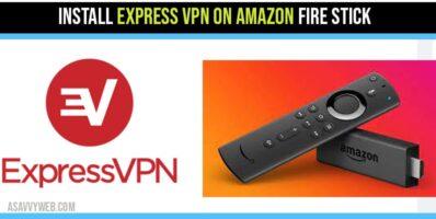 Setup and Install Express VPN on Fire Stick Amazon