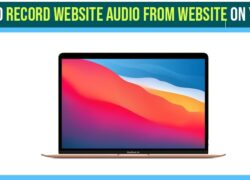 Record audio from website on your macbook