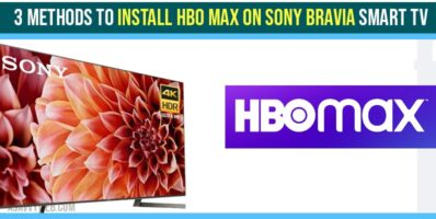 install HBO Max on Sony Bravia Smart tv