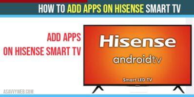 Add Apps on Hisense Smart TV