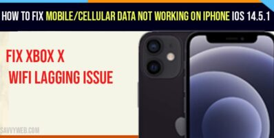 How to Fix Mobile/Cellular Data Not Working On iPhone iOS 14.5.1