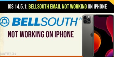 bellsouth email not working on iPhone