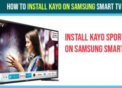 install kayo app on samsung smart tv