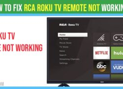 RCA Roku tv remote not working