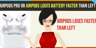 Airpods Loses Battery Faster than Left