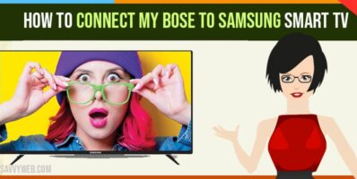 Connect my Bose to Samsung Smart TV