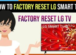 Factory reset lg smart tv with remote