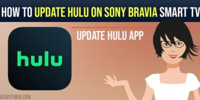 How to update hulu app on sony bravia smart tv