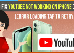 Youtube Not working on iPhone