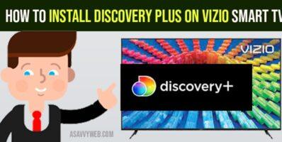 install Discovery Plus on Vizio Smart TV