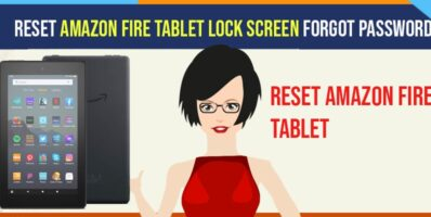 Reset Amazon fire tablet lock screen password or pin