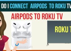 connect airpoids to roku tv