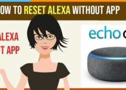 How to Reset Alexa Without App