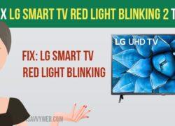 Fix LG Smart tv Red Light Blinking 2 Times