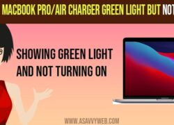 How to Fix Macbook Pro/Air Charger Green Light But Not Charging and Not Turning On