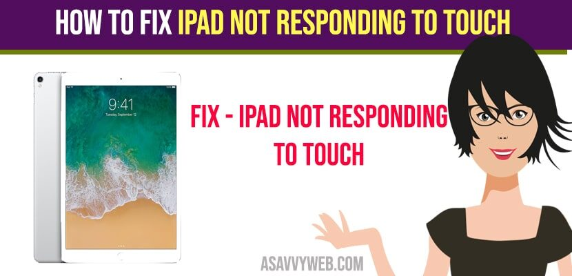 Fix iPad not responding to Touch