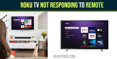 Roku TV Not Responding to Remote