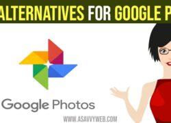 Best Alternatives for Google Photos for Storage
