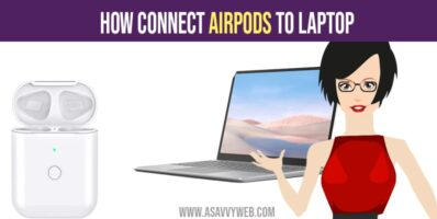 Connect airpods to laptop