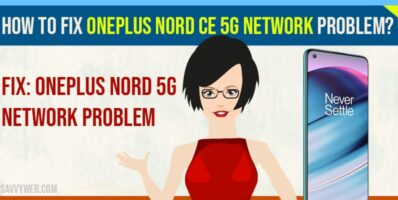 OnePlus Nord Ce 5G Network Problem