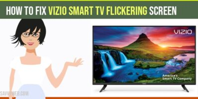 vizio smart tv screen flickering issue