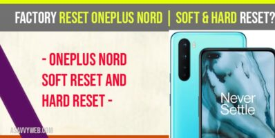 factory reset oneplus nord