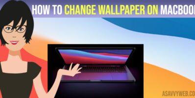 Change Wallpaper on MacBook