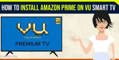 how to install amazon prime on vu smart tv
