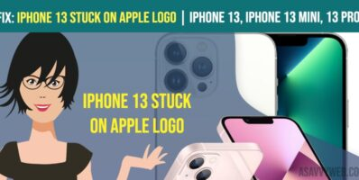 iPhone 13 Stuck on Apple logo