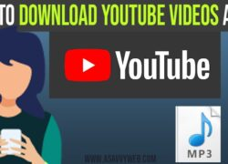 How to Download YouTube Videos as MP3