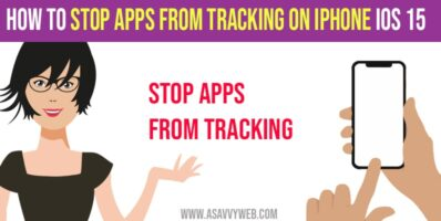 Stop Apps from Tracking on iPhone