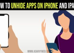 How to Unhide App on iPhone and iPad