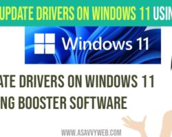 update drivers on windows 11 - booster