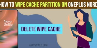 Wipe Cache Partition on OnePlus Nord