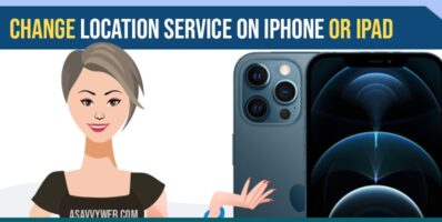 Change location services on iPhone or iPad