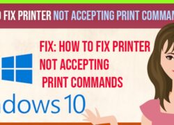 Printer not Accepting Print Commands