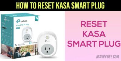 How to Reset Kasa Smart Plug