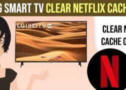 LG smart tv Clear Netflix Cache