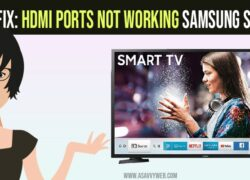 hdmi ports not working on samsung smart tv