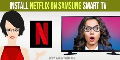 install netflix on samsung smart tv