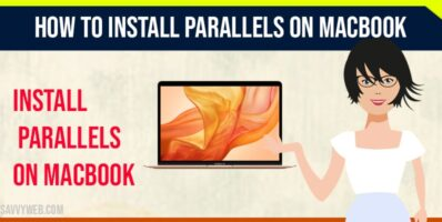 Install parallels on MAC