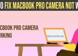 Macbook pro camera not working no green light