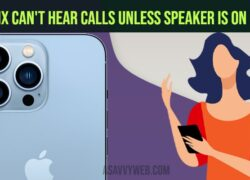 How to Fix Can't Hear Calls Unless Speaker is On iPhone 13, 13 mini, 12, 11