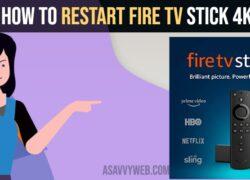 How to Restart Fire tv stick4k