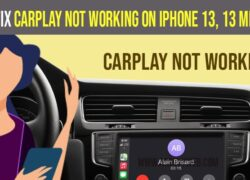 How to fix CarPlay not working on iPhone 13, 13 mini, 13 pro, and 13 pro max