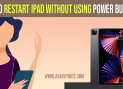 Restart iPad Without Using Power Button