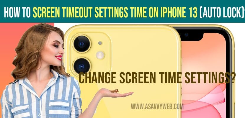 Change screen time settings on iPhone